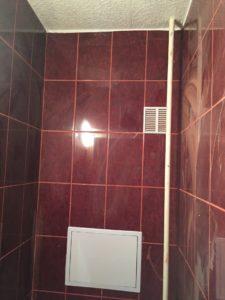 Lakásfelújítás panel wc burkolás, panel fűrdőszoba felújítás,