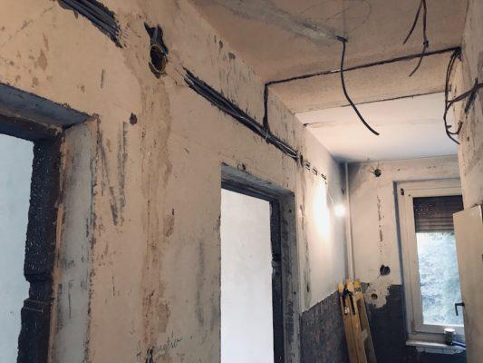 Panel lakás ajzatok kiépítése
