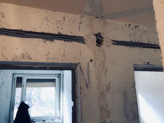 villanyszerelés új ajzatok kiépítése
